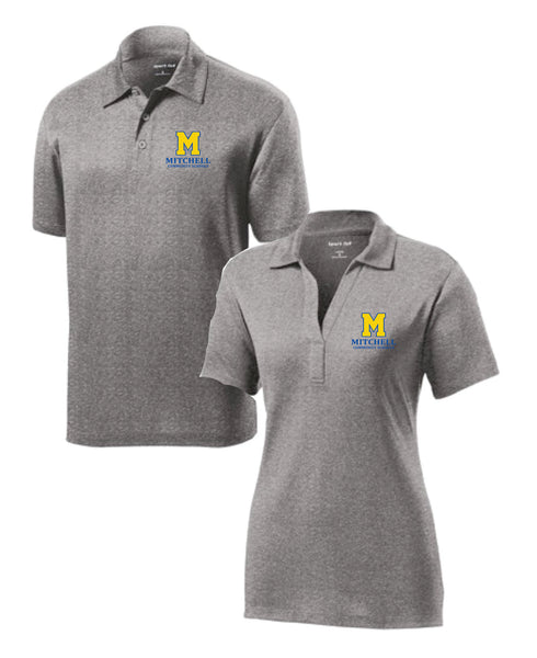 2 - Vintage Heather Polo by Sport Tek - MCS Staff Apparel