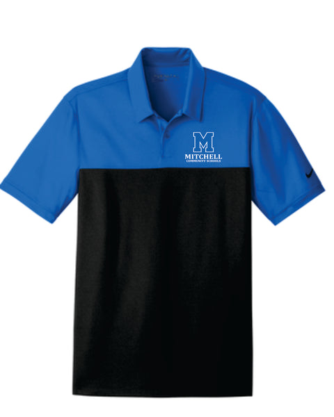 1 - Nike Colorblock Polo - MCS Staff Apparel