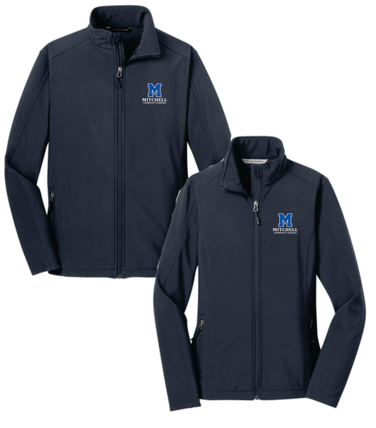 5 - Core Soft Shell Jacket (Ladies and Mens Cut) - MCS Staff Apparel