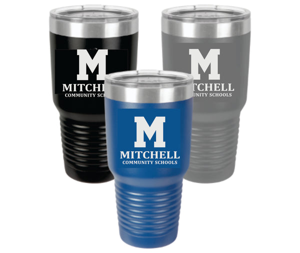 14 - 30 ounce stainless steel tumbler (3 colors to choose from) - MCS Staff Apparel
