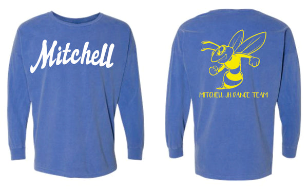 STYLE #3 - Florida Blue Comfort Color Long Sleeve (mandatory purchase) - MJHS Dance 2020