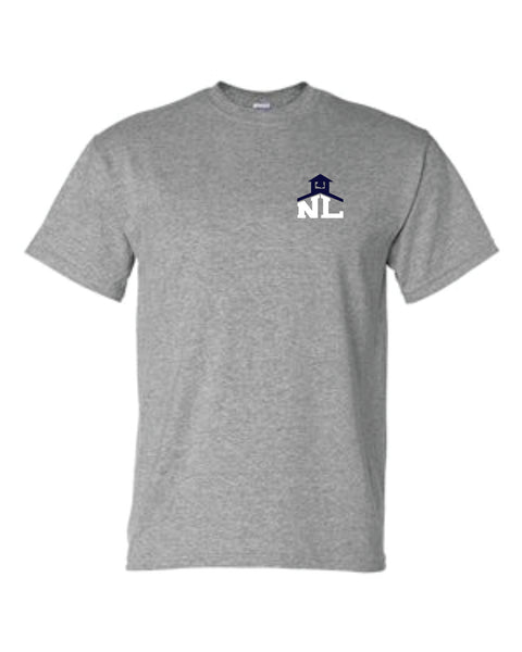 1 - NLCS GRAY T-SHIRT - NLCS Staff Store
