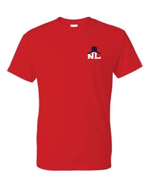 2 - NLCS RED T-SHIRT - NLCS Staff Store