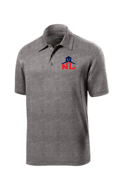 HEATHERED CONTENDER PERFORMANCE POLO (Navy or Gray)