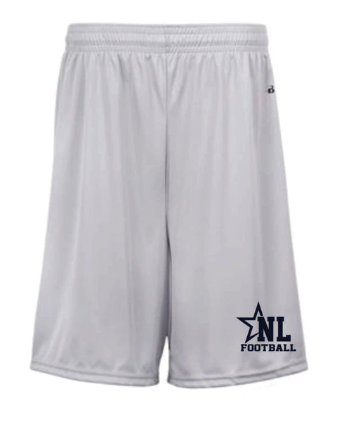 TEAM SHORTS- NL Football Team Order - AS and AXL Only
