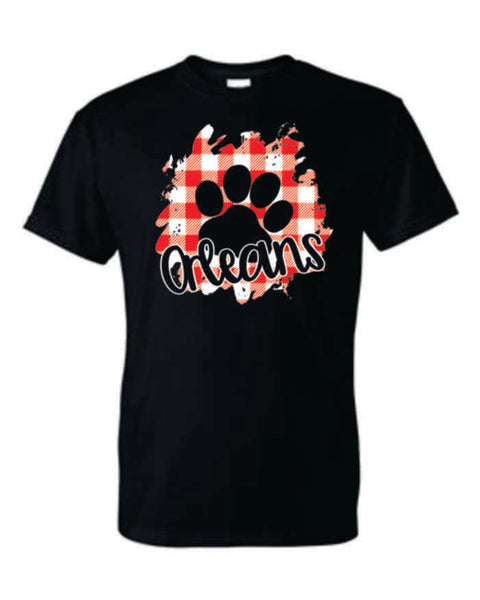 #11 - Buffalo Check Black T-shirt - Orleans BPA 2020