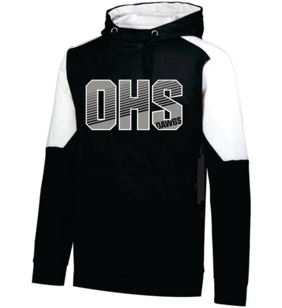 #19 - OHS Black and White Performance Hoodie - Orleans BPA 2020