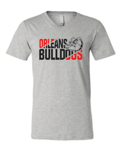 #2 - Diagonal Design on SOFT STYLE V-NECK - Orleans BPA 2020