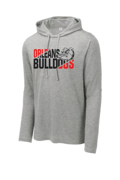 #4 - Diagonal Design on LONG SLEEVE HOODED TEE - Orleans BPA 2020