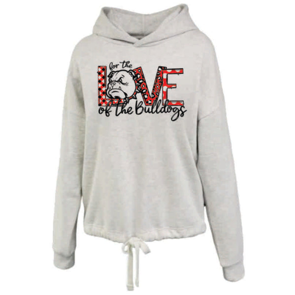 "#10 - ""For the Love"" LADIES LIGTHWEIGHT HOODIE - Orleans BPA 2020"