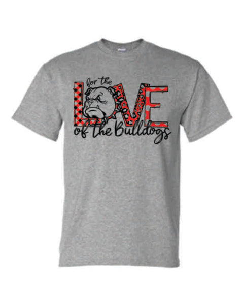 "#6 - ""For the Love"" GRAY T-SHIRT - Orleans BPA 2020"