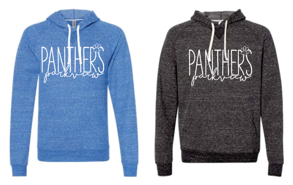 - Simple Parkview Panther on SNOW HEATHER HOODIE BLACK AS ONLY - Parkview 2020