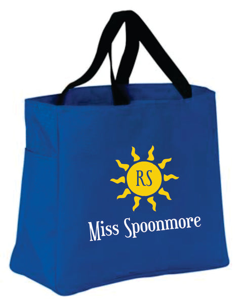STYLE #6 - Personalized Tote Bag - RISING SUN TEACHERS