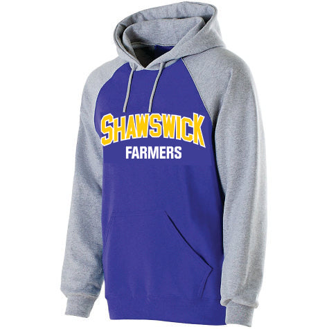 STYLE D - HOODIE WITH APPLIQUE LETTERING - Shawswick PTO
