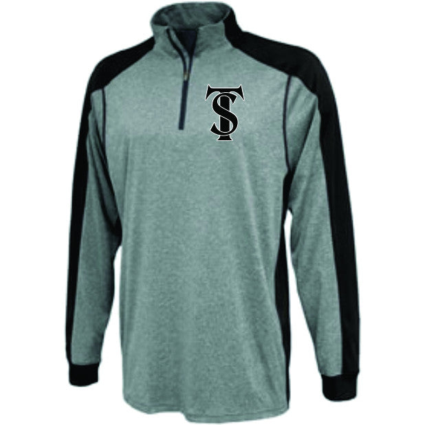 TS Logo - Embroidered 1/4 Zip Pullover