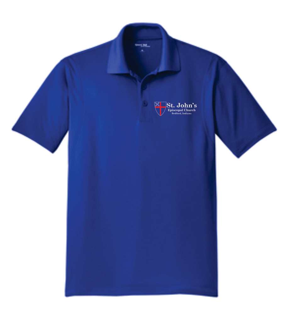 Embroidered Polo - ST JOHNS CHURCH