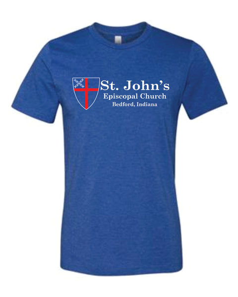 Soft Style Vintage Shirt - ST JOHNS CHURCH