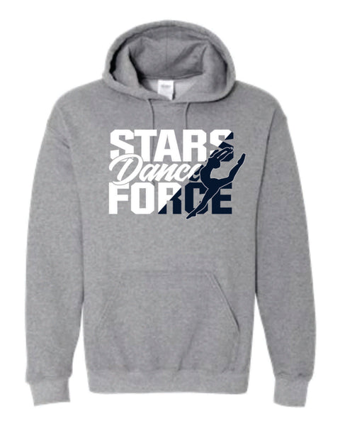 #9 - Hoodie in Graphite Gray - Dance Force 2020