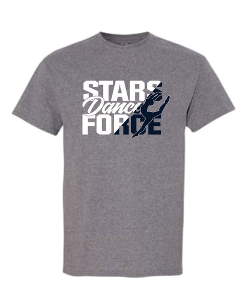 #7 - T-shirt in Graphite Gray  - Dance Force 2020