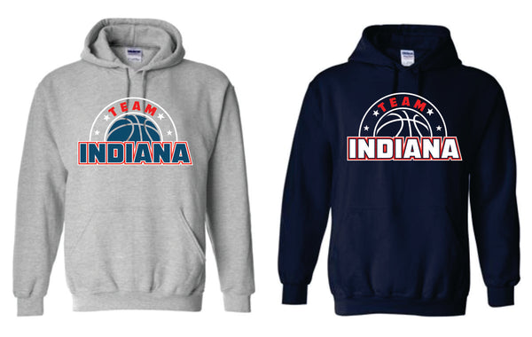 STYLE #4 - Cotton Hoodie - TEAM INDIANA