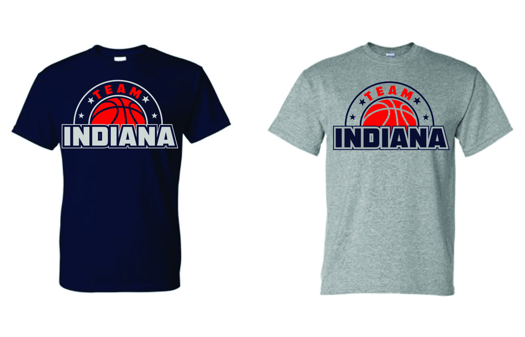 STYLE #5 - GLITTER T-Shirt - TEAM INDIANA
