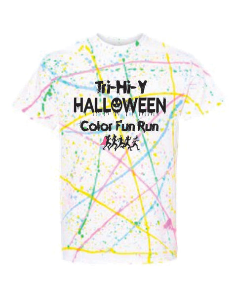 Color Fun Run RAINBOW SPLATTER T-SHIRT - Tri-Hi-Y 2020