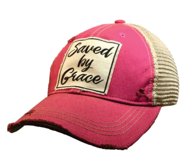 Save by Grace - Vintage Trucker Hat - YOU MATTER