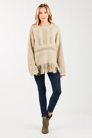 Fringe Sweater