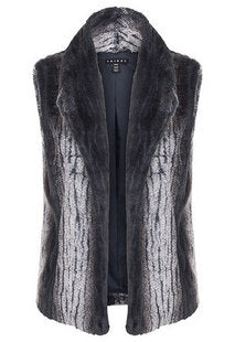 Tribal Ink Fur Vest
