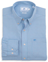 Southern Tide South of Broad Plaid Sport Shirt