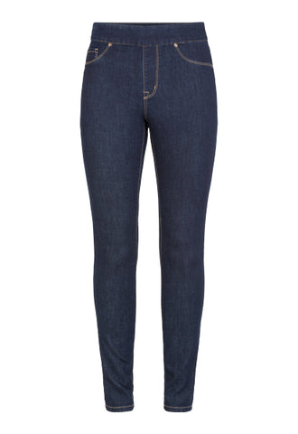 Pull On Jegging Jean Rinse Wash Tribal
