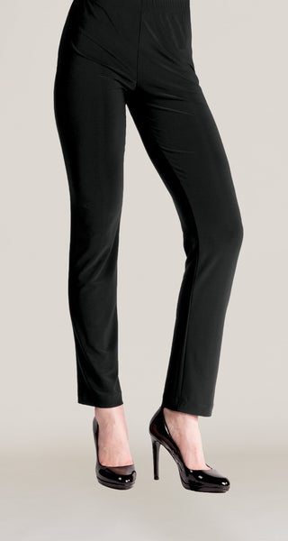 Soft Knit Straight Leg Pant Black Clara Sun Woo
