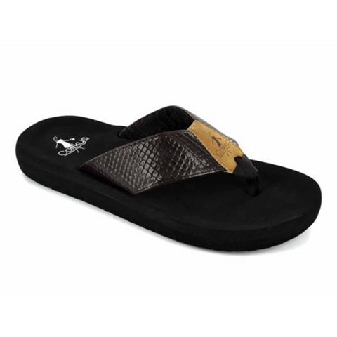 Corkys Royal Sandal Black