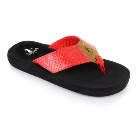 Corkys Royal Sandal Red