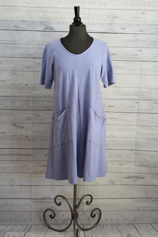 Cut Loose Tunic Pocket Dress H2O