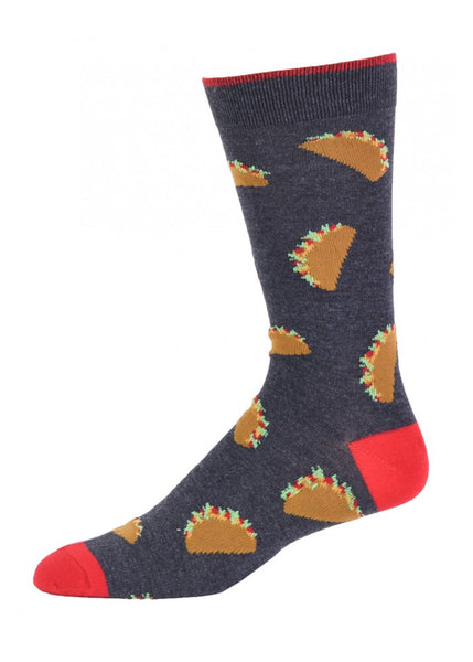 Men's Novelty Taco Socks