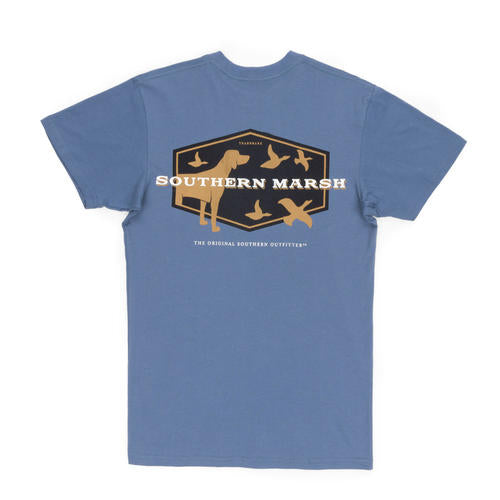 Southern Marsh Branding Hunting Dog Short Sleeve