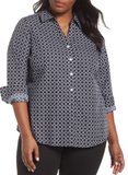 Foxcroft Mary Graphic Dot