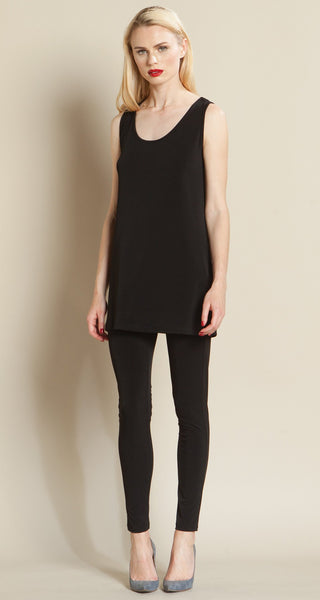 Tank Medium Length Black Clara Sun Woo