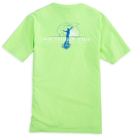 Southern Tide Cast Net T-shirt