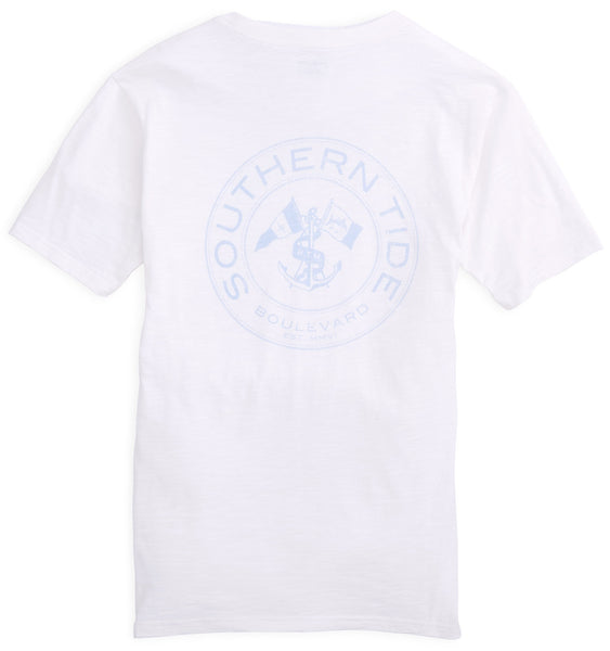 Southern Tide Boulevard Coin T-shirt