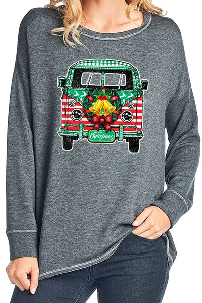 Christmas Camper Sweater