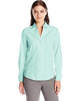 Foxcroft Mint Julep Button Up
