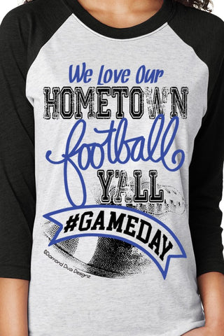 Hometown Football Tee's