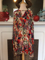 Red Rose Dress Plus
