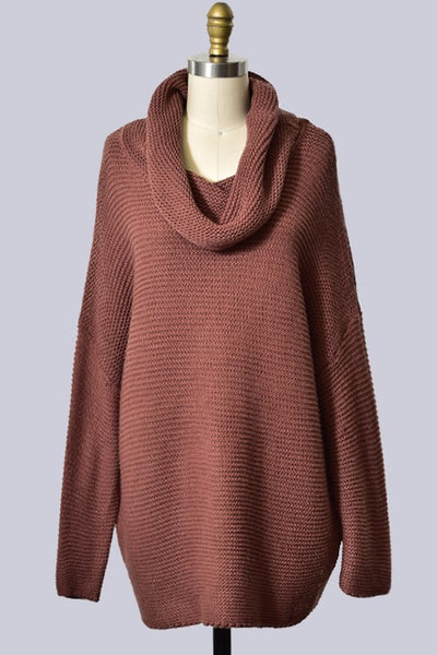 Coffee Shop Tales Sweater In Red Bean