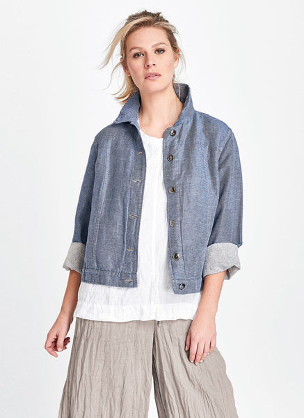 Flax Jean Jacket Urban Denim
