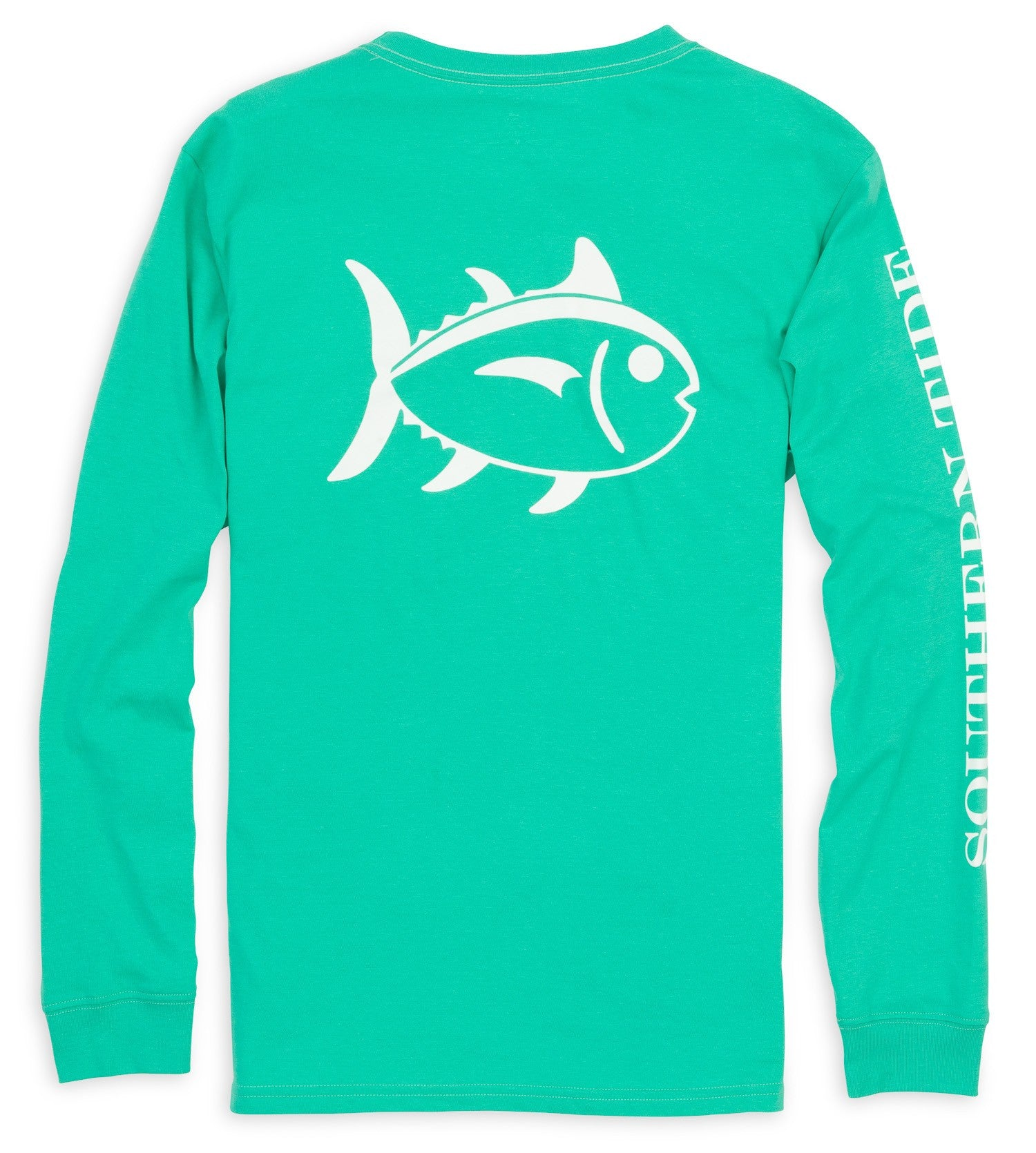Southern Tide Outlined Skipjack Long Sleeve Tee