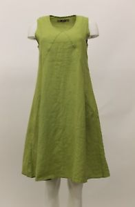 Flax Dress - Lime