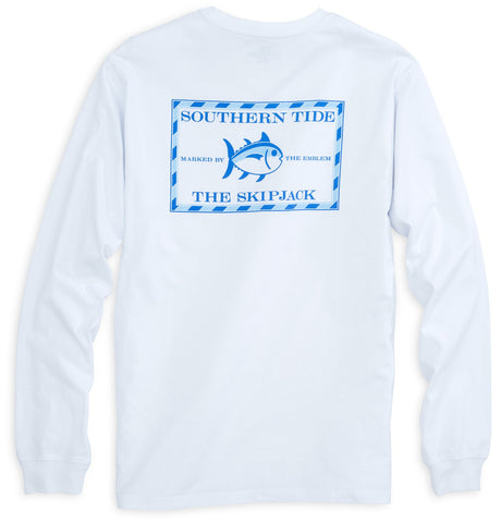The Skipjack Long Sleeve tee shirt